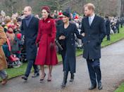 The second outing of the fab four at Sandringham in 2018 would turn out to be the last. (Samir Hussein/WireImage)