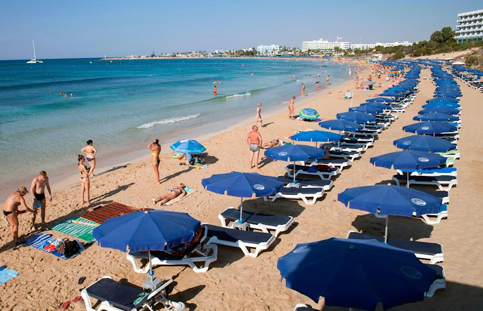 <p>Cyprus is open to vaccinated travellers from May</p> (AFP via Getty Images)