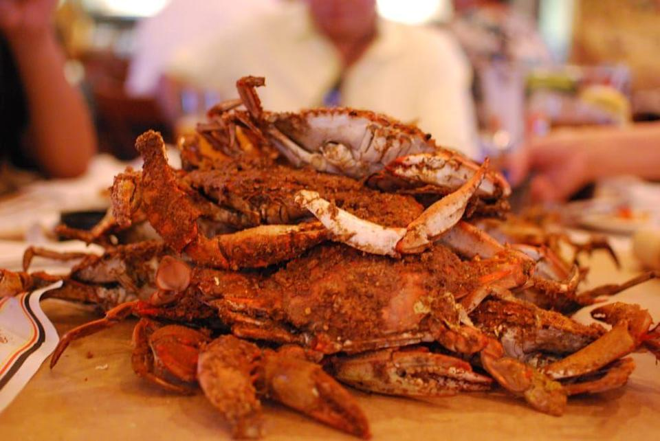 "<p><strong><a href=""https://www.yelp.com/biz/crab-palace-newark?osq=seafood"" rel=""nofollow noopener"" target=""_blank"" data-ylk=""slk:Crab Palace"" class=""link rapid-noclick-resp"">Crab Palace</a>, Newark</strong></p><p>""Crab Palace has been my family's favorite spot for seafood for close to 30 years. Consistently fresh, great prices, and the staff is always there when you need them! Highly recommend."" — Yelp user <a href=""https://www.yelp.com/user_details?userid=u7CW4fnnTa_c4lQP7dW9_A"" rel=""nofollow noopener"" target=""_blank"" data-ylk=""slk:Anthony T."" class=""link rapid-noclick-resp"">Anthony T.</a></p><p>Photo: Yelp/<a href=""https://www.yelp.com/biz/crab-palace-newark?osq=seafood"" rel=""nofollow noopener"" target=""_blank"" data-ylk=""slk:Crab Palace"" class=""link rapid-noclick-resp"">Crab Palace</a></p>"