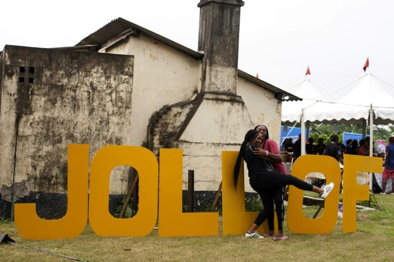 In Nigeria, jollof rice isn't just a tasty West African dish -- it's a national obsession. Dozens of top chefs gathered at the weekend for Lagos' inaugural jollof festival, showcasing their personal twists on the tangy tomatoey rice to a crowd