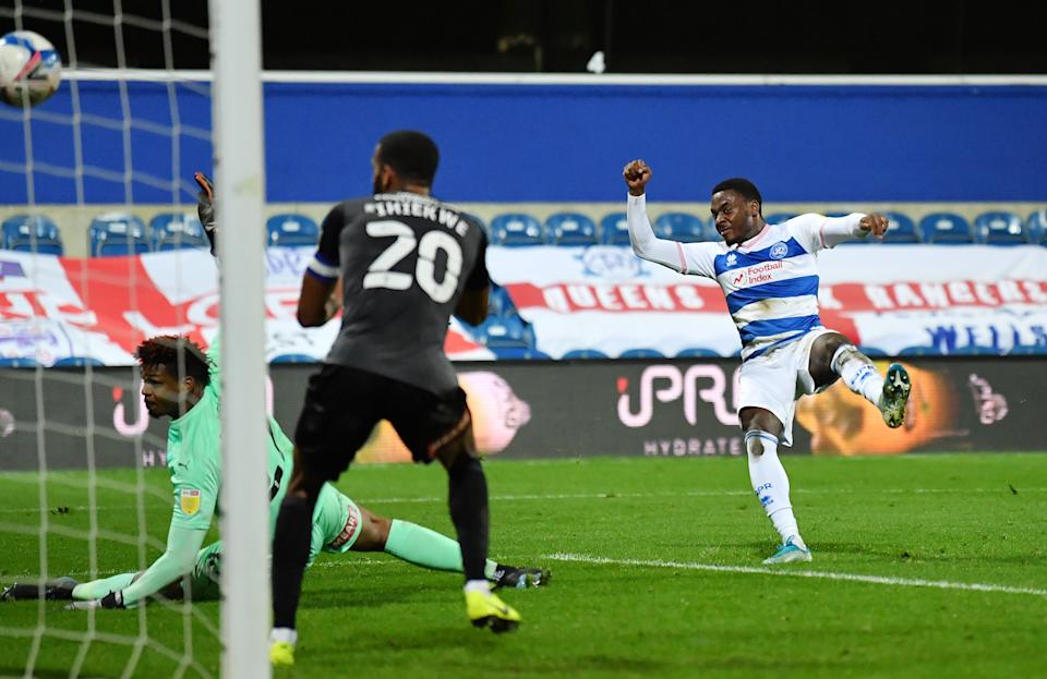 <p>Osayi-Samuel fires home for QPR</p>Getty Images
