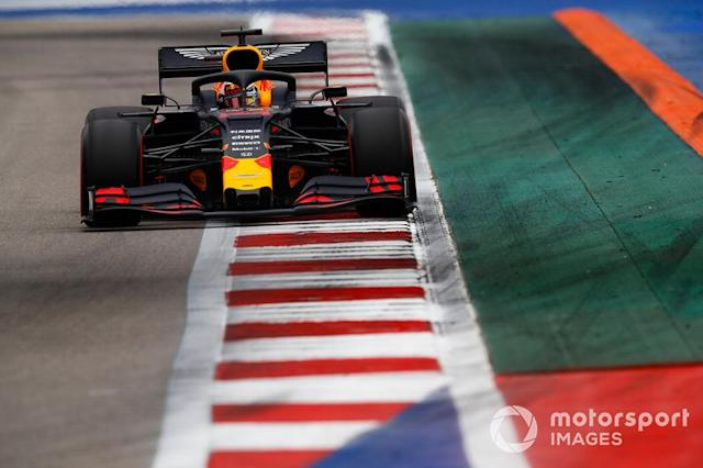 "Max Verstappen, Red Bull Racing RB15 <span class=""copyright"">Glenn Dunbar / LAT Images</span>"