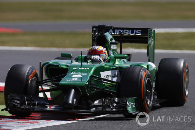 "Caterham CT05 <span class=""copyright"">Alastair Staley / Motorsport Images</span>"