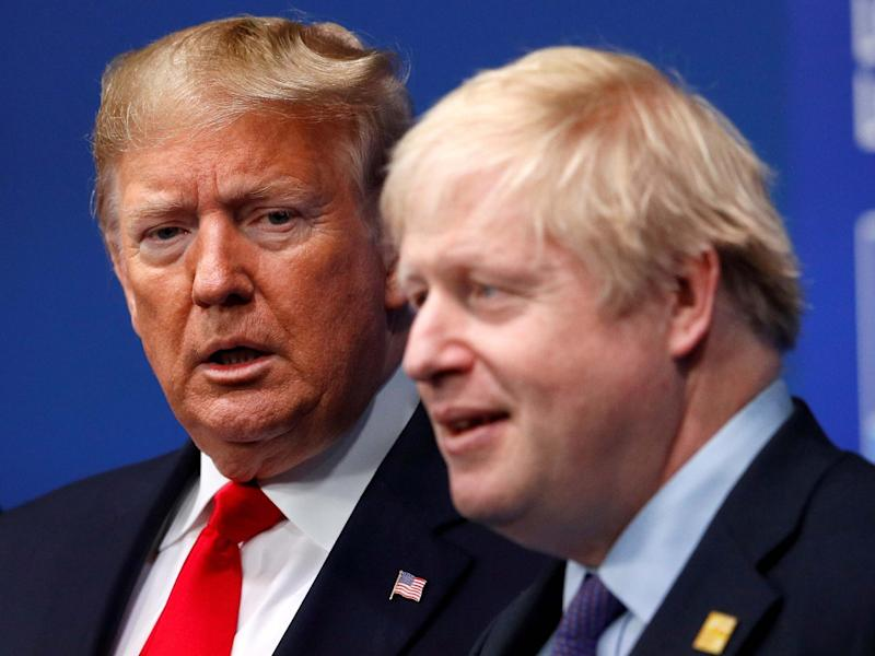 So what are you meant to think when a British prime minister stands up to a bullying, universally loathed president of the United States?: Reuters