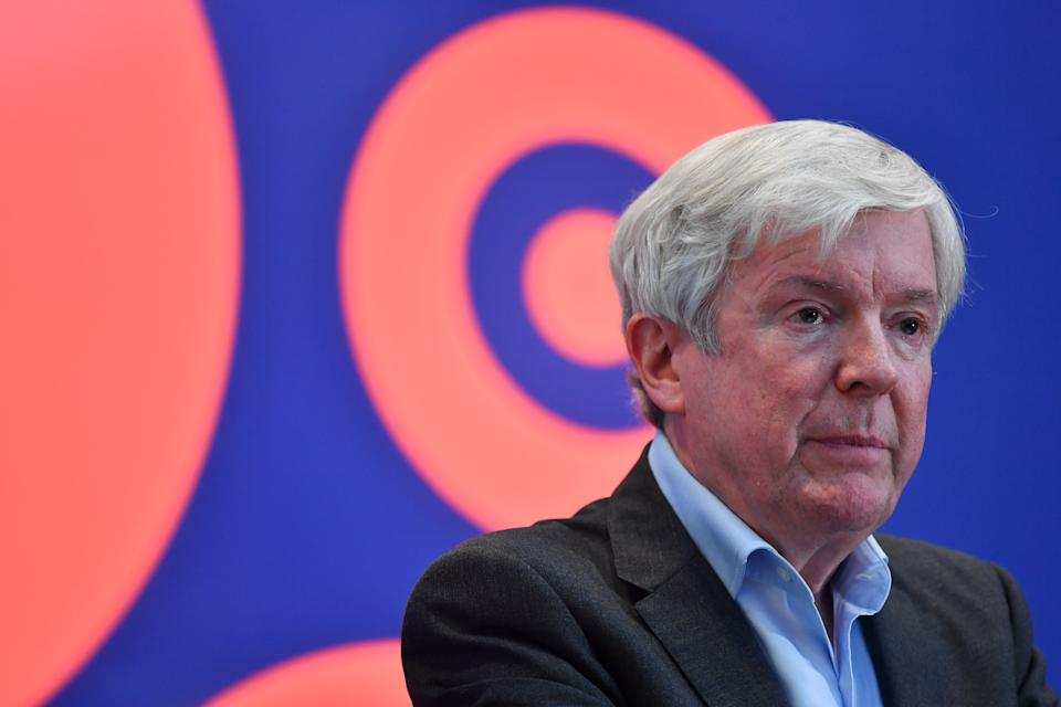 Lord Hall, director-general of the BBC. (Ben Stansall – WPA Pool/Getty Images)