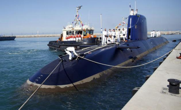 Police question six in Israel-Germany submarine deal