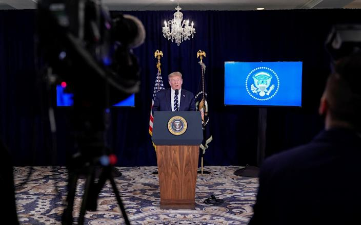 Donald Trump says he will extend unemployment benefits and coronavirus aid until the end of the year
