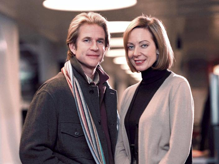 matthew modine and allison janney in the west wing