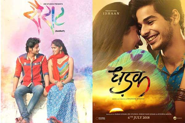 Sairat-and-Dhadak