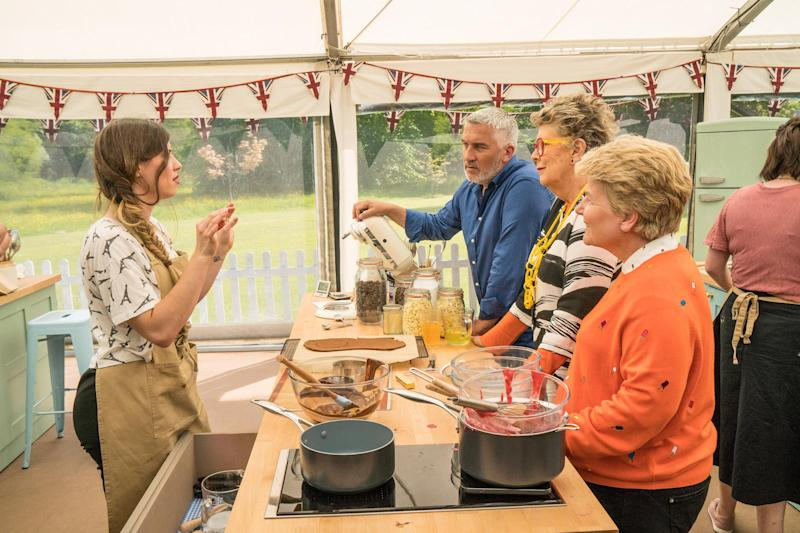 Great British bake Off: Manon makes her case to the judges