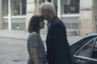 """<p>Sofia Coppola. Rashida Jones. Bill Murray. Intrigued yet? Coppola wrote and directed this comedy-drama starring Jones and Murray as a father and daughter duo who team up to spy on her husband (Marlon Wayans), who may or may not be cheating. </p> <p><a href=""""https://tv.apple.com/us/movie/on-the-rocks/umc.cmc.1mydlea6wicrm013138speg6m"""" rel=""""nofollow noopener"""" target=""""_blank"""" data-ylk=""""slk:Available to stream on Apple TV+"""" class=""""link rapid-noclick-resp""""><em>Available to stream on Apple TV+</em></a></p>"""