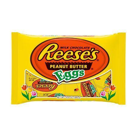 "<p><strong>Reese's</strong></p><p>walmart.com</p><p><strong>$2.98</strong></p><p><a href=""https://go.redirectingat.com?id=74968X1596630&url=https%3A%2F%2Fwww.walmart.com%2Fip%2F23230830&sref=https%3A%2F%2Fwww.bestproducts.com%2Feats%2Ffood%2Fg1239%2Fbest-easter-candy-chocolate%2F"" rel=""nofollow noopener"" target=""_blank"" data-ylk=""slk:Shop Now"" class=""link rapid-noclick-resp"">Shop Now</a></p><p>Reese's Peanut Butter Eggs are the perfect combination of the beloved classic candy with a fresh springtime twist. Swap out those traditional plastic eggs for these treats during the family Easter egg hunt for a sweet upgrade.</p>"