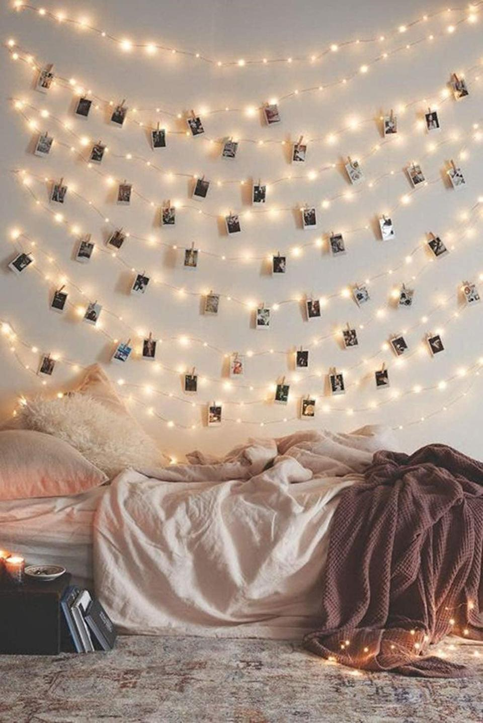 """<p>Add some extra light to any room with these <a href=""""https://www.popsugar.com/buy/50-LED-Photo-Clip-String-Lights-410881?p_name=50%20LED%20Photo%20Clip%20String%20Lights&retailer=amazon.com&pid=410881&price=15&evar1=casa%3Aus&evar9=46598422&evar98=https%3A%2F%2Fwww.popsugar.com%2Fhome%2Fphoto-gallery%2F46598422%2Fimage%2F46598459%2F50-LED-Photo-Clip-String-Lights&list1=shopping%2Chome%20decor%2Chome%20shopping&prop13=mobile&pdata=1"""" class=""""link rapid-noclick-resp"""" rel=""""nofollow noopener"""" target=""""_blank"""" data-ylk=""""slk:50 LED Photo Clip String Lights"""">50 LED Photo Clip String Lights</a> ($15).</p>"""