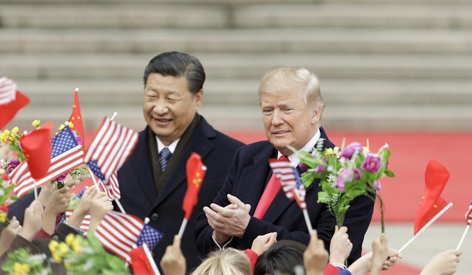 Xi Jinping joined other leaders in calling Donald Trump just hours after he was declared the winner of the US election in 2016. Photo: Bloomberg