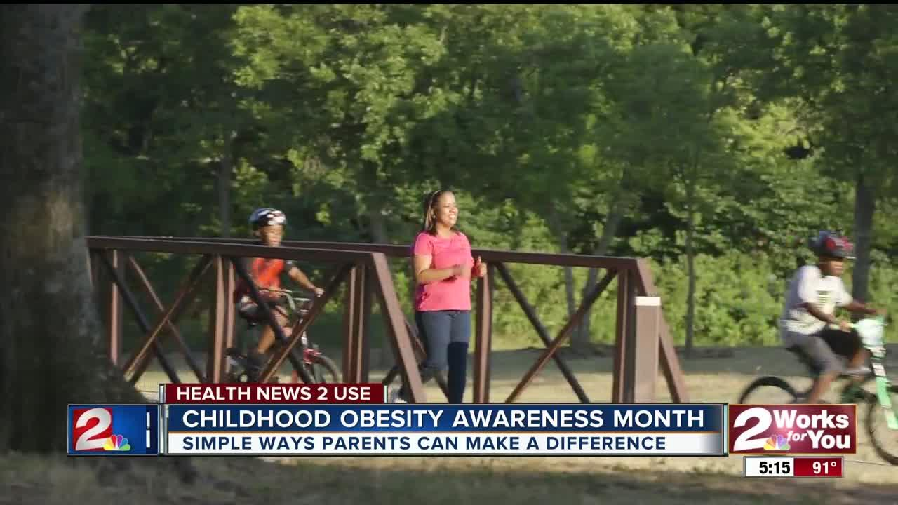 There are simple things parents can do to help end the obesity problem in Oklahoma