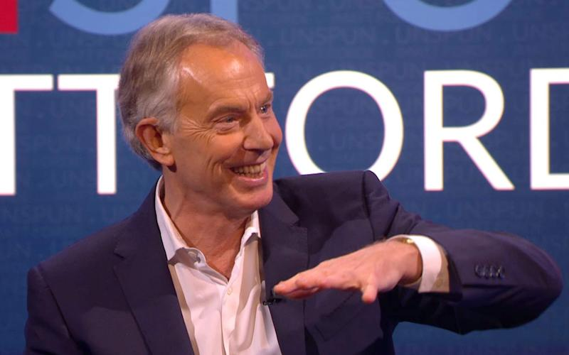 Tony Blair, the former Labour Prime Minister