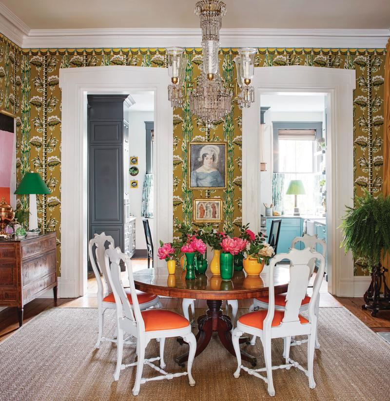 Pattern, like in this Brockschmidt & Coleman interior, is also staying strong.