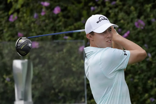 Fitzpatrick blots great round with late double at Wentworth