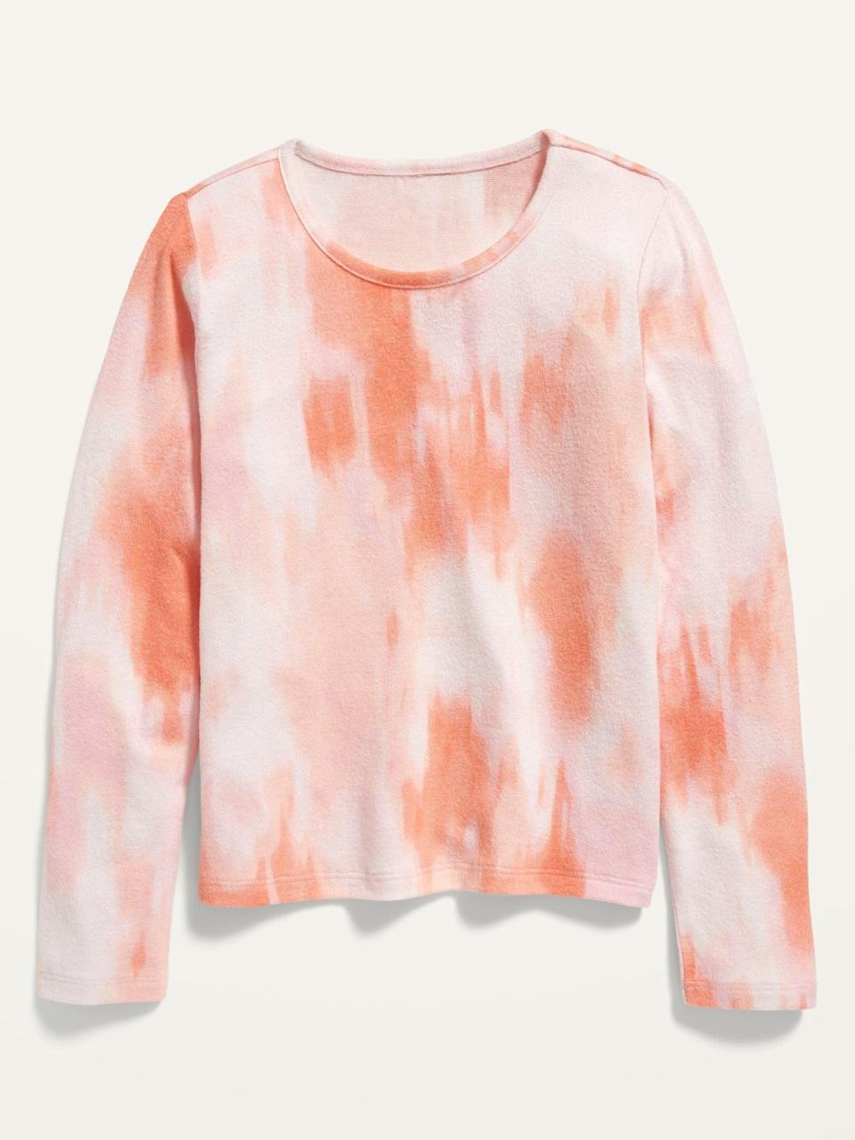 <p>This <span>Cozy Tie-Dye Cropped Pullover Sweater</span> ($20) will make a colorful addition to your wardrobe.</p>