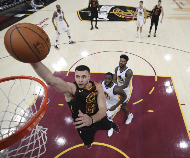Larry Nance Jr. extends his contract with the Cleveland Cavaliers