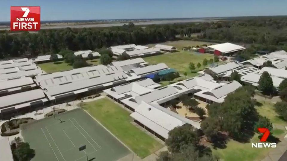 The private school is considering banning some literary works. Source: 7 News