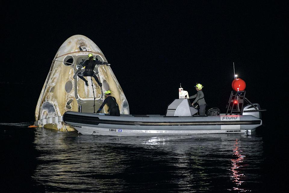 SpaceX Resilience Return