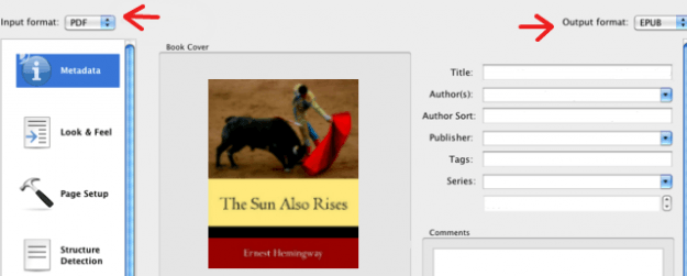 How to convert a PDF to ePUB