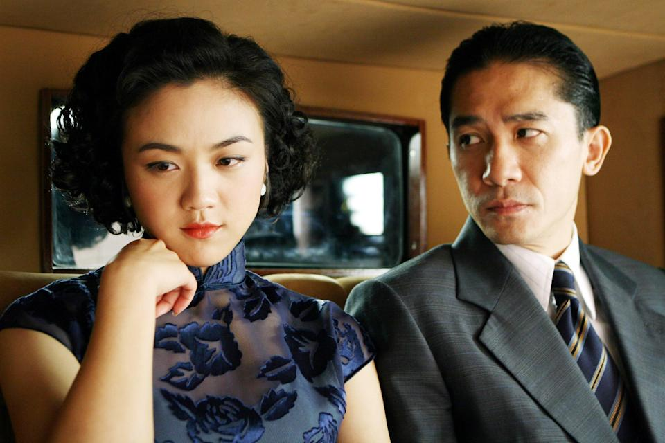 """<p>Director Ang Lee helmed this film based on the 1979 novella by Eileen Chang and loosely based on real events during the Japanese occupation of Shanghai in the late 1930s and early '40s. It's a beautifully shot film, but definitely not safe for work: The movie's sex scenes earned it an NC-17 rating in the United States when it was released.</p> <p><a href=""""https://www.amazon.com/gp/video/detail/amzn1.dv.gti.9ea9f73a-a791-2183-6319-af6edf739ada?autoplay=1&ref_=atv_cf_strg_wb"""" rel=""""nofollow noopener"""" target=""""_blank"""" data-ylk=""""slk:Available to rent on Amazon Prime Video"""" class=""""link rapid-noclick-resp""""><em>Available to rent on Amazon Prime Video</em></a></p>"""