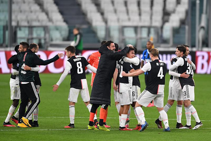 In our model, Juventus go on to claim a ninth successive Serie A title