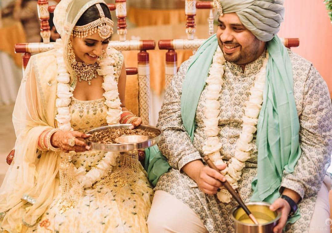 <p></p><p>Ishaqbaaz fame actress Aditi Gupta, too, had a winter wedding and tied the knot with beau Kabir Chopra on December 12th, 2018. It was a private affair attended by close friends from the fraternity and elsewhere. Drashti Dhami, Kritika Kamra and Anita Hassanandani were members of the industry who had reached to shower their good wishes on the newly-weds. </p><p></p>