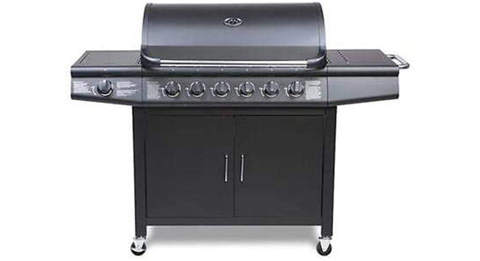 CosmoGrill barbecue 6+1 Pro Gas Grill BBQ