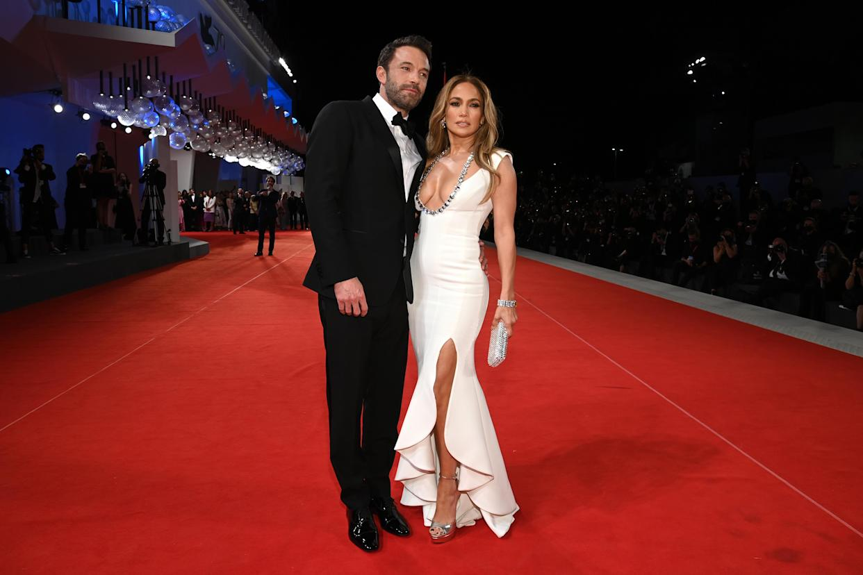 Ben Affleck and Jennifer Lopez  attend the red carpet premiere for