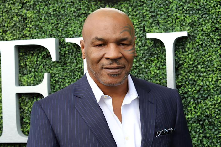 """<p>Former boxing champ and all-round controversial figure Mike Tyson is a known fan of The Donald. 'He should be president of the United States,' he told <a rel=""""nofollow noopener"""" href=""""https://www.huffingtonpost.co.uk/entry/mike-tyson-endorses-donald-trump-2016_us_562e8853e4b00aa54a4aba46"""" target=""""_blank"""" data-ylk=""""slk:HuffPo"""" class=""""link rapid-noclick-resp"""">HuffPo </a>back in 2015. (PA) </p>"""
