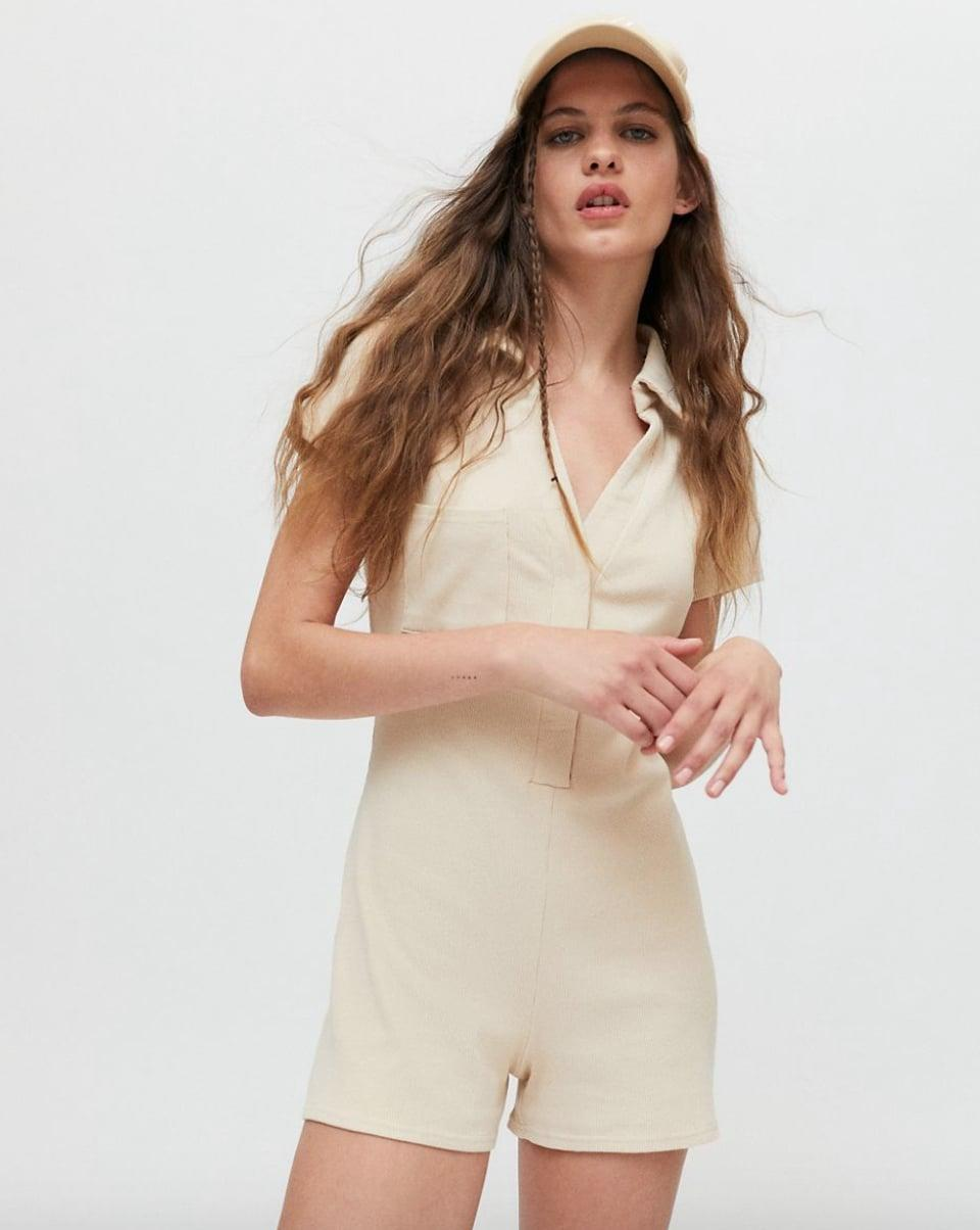 <p><span>Urban Outfitters UO Remi Ribbed Polo Jumper</span> ($59)</p>
