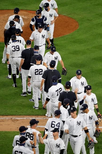 Judge homers again, Yankees roll past Red Sox 5-1