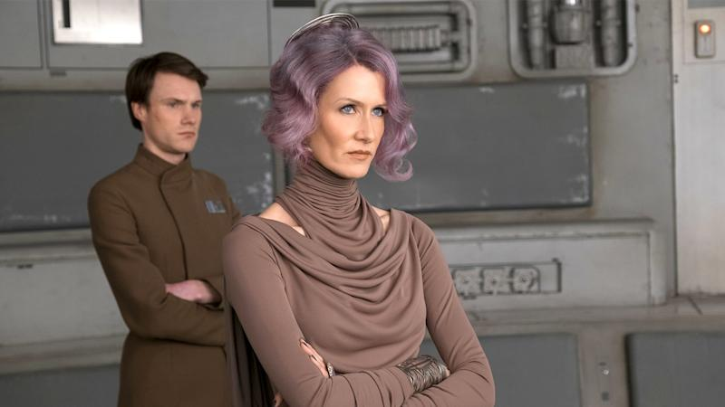 Laura Dern as Commander Holdo in The Last Jedi (Credit: Disney/Lucasfilm)
