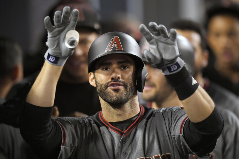When J.D. Martinez homers, the D-backs have a good shot to win. (AP)