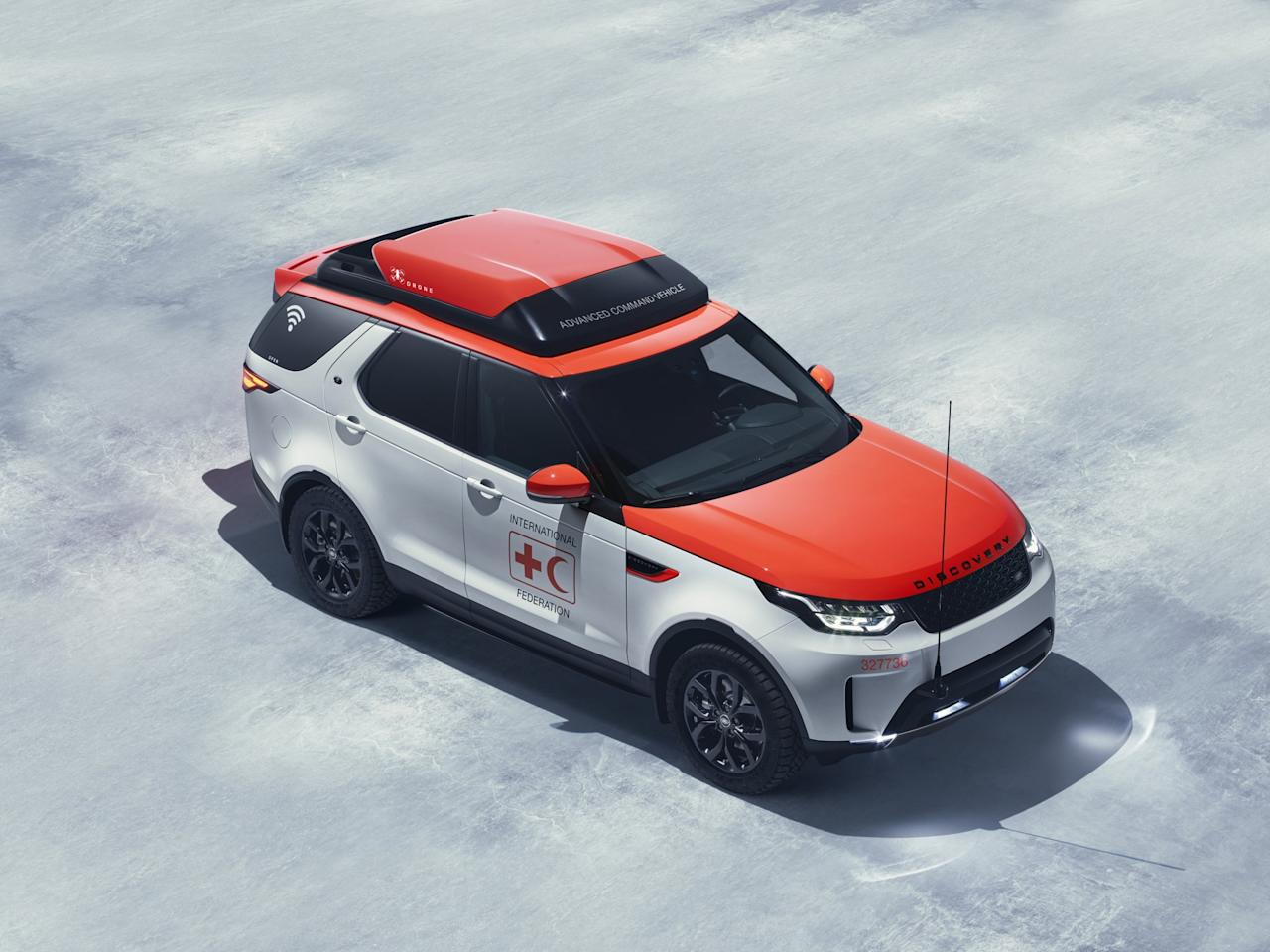 """<p>""""The new Discovery is an outstanding all-terrain SUV, and Project Hero is the optimum combination of enhanced capability and innovative technology. We hope to help the Red Cross save lives in emergency situations,"""" saidJohn Edwards, Jaguar Land Rover special operations managing director. </p>"""