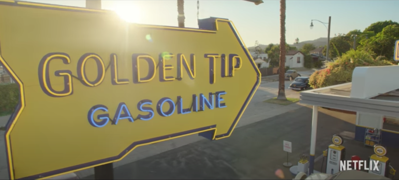The 'Golden Tip' in 'Hollywood' Was Based on a Real Gas Station ...