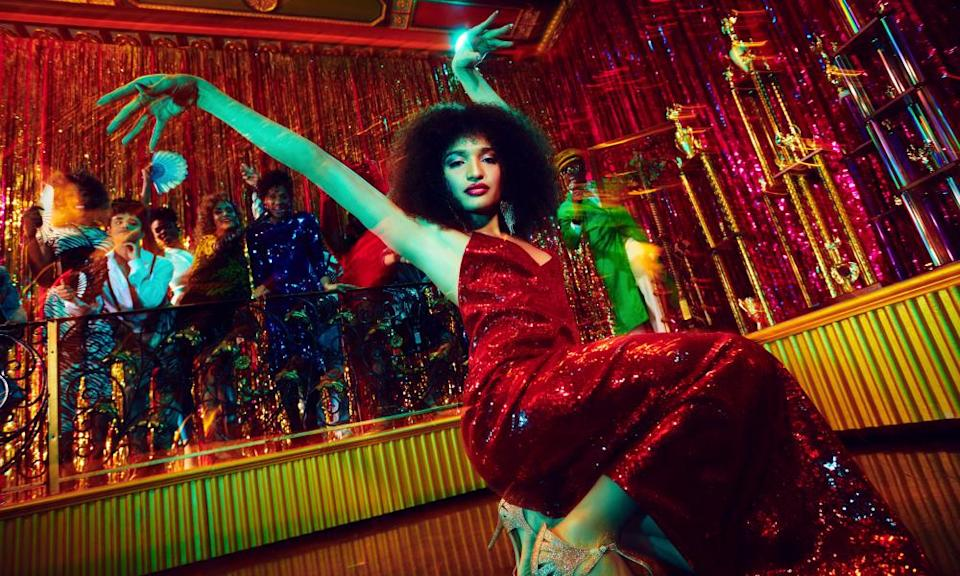 'Beautiful and moving' ... Indya Moore as Angel in Pose.