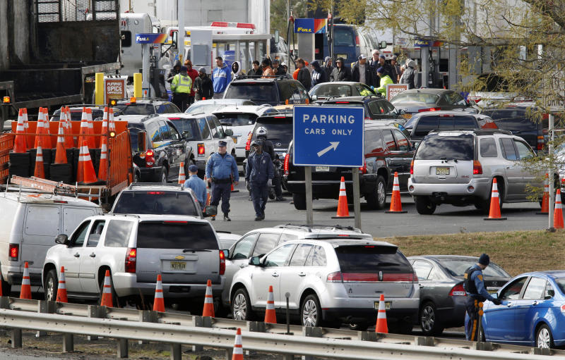 Power returning after Sandy but gas problems rise