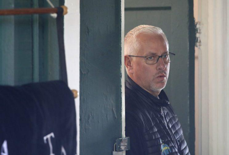 To win the Triple Crown, Todd Pletcher will have to do something he's never done before: win the Preakness. (AP)