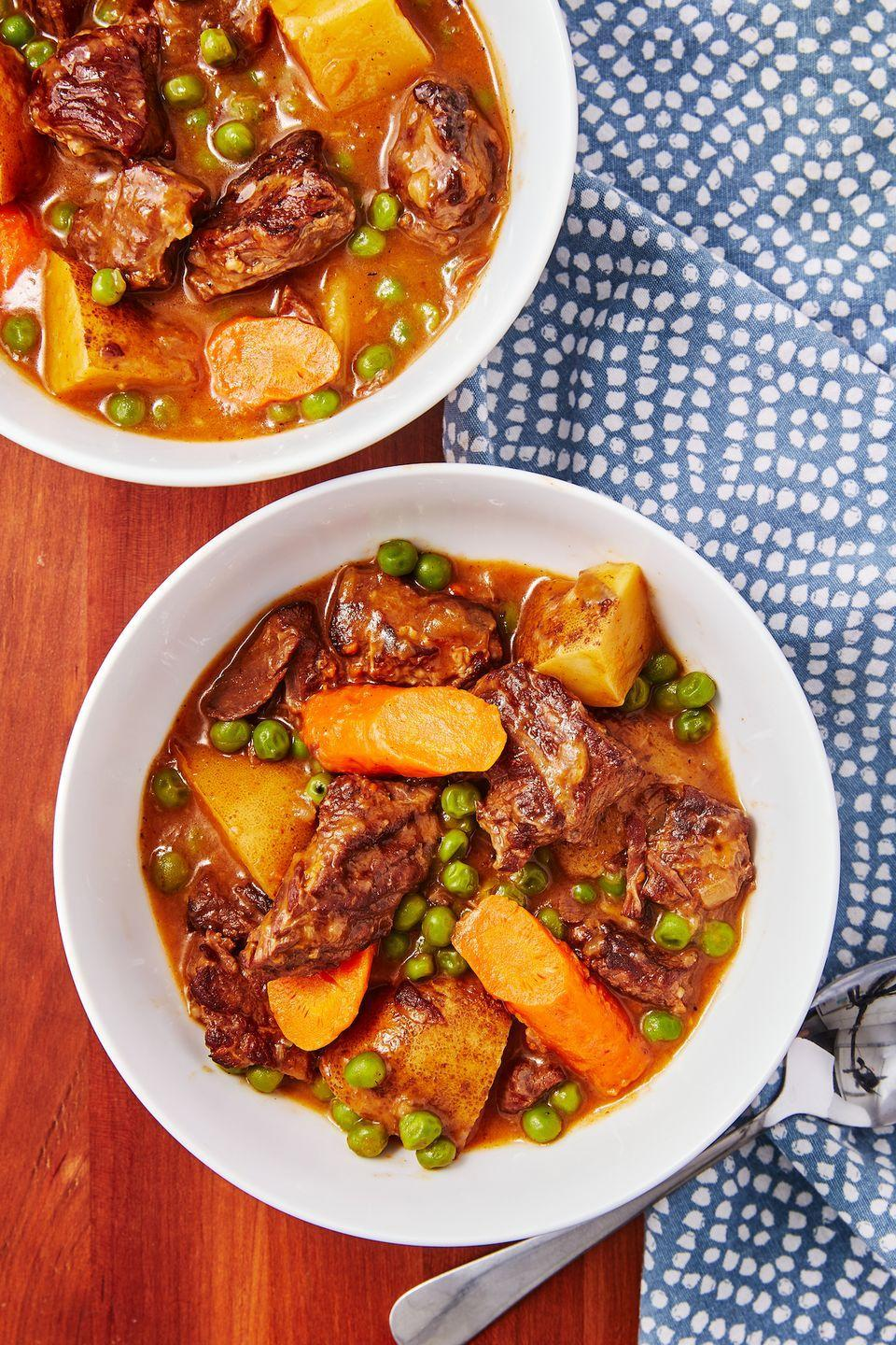 """<p>Your instant pot tenderizes meat in minutes.</p><p>Get the recipe from <a href=""""https://www.delish.com/cooking/recipe-ideas/a29787742/instant-pot-beef-stew-recipe/"""" rel=""""nofollow noopener"""" target=""""_blank"""" data-ylk=""""slk:Delish"""" class=""""link rapid-noclick-resp"""">Delish</a>.</p>"""
