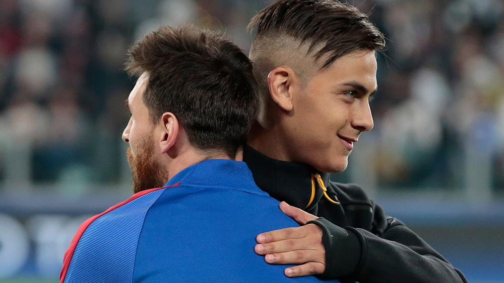 Dybala Messi Juventus Barcellona Champions League