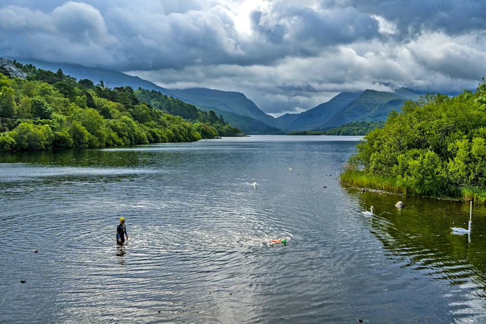 A slate landscape in Gwynedd, north-west Wales, has been granted World Heritage Status (Getty Images)