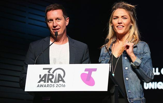 KIIS FM star Kyle says no one needs to be a psychic to realise Rove and Sam Frost wouldn't last long in that prime time slot. Source: Getty