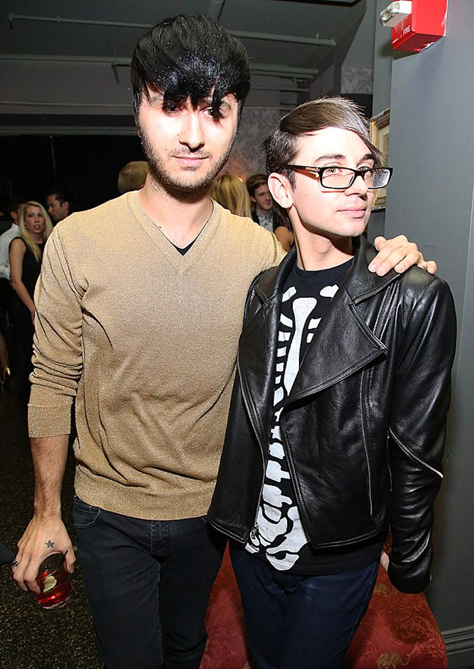 NEW YORK, NY - SEPTEMBER 19: Brad Walsh (L) and designer Christian Siriano attend H&M's private concert with Lana Del Rey at The Wooly on September 19, 2012 in New York City.  (Photo by Astrid Stawiarz/Getty Images for H&M)