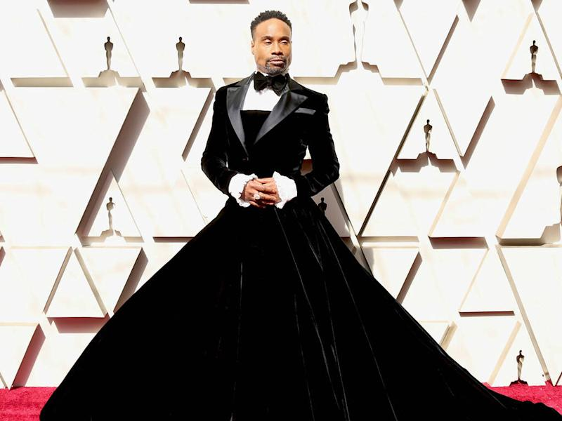 Billy Porter wanted his Oscars tuxedo dress to 'play with genders'