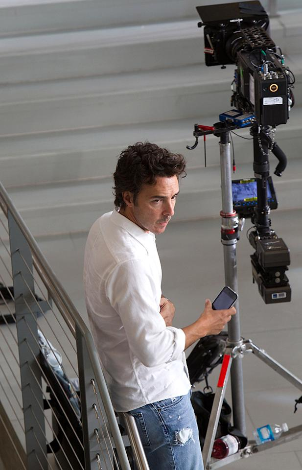 "Director Shawn Levy on the set of 20th Century Fox' ""The Internship"" - 2013"