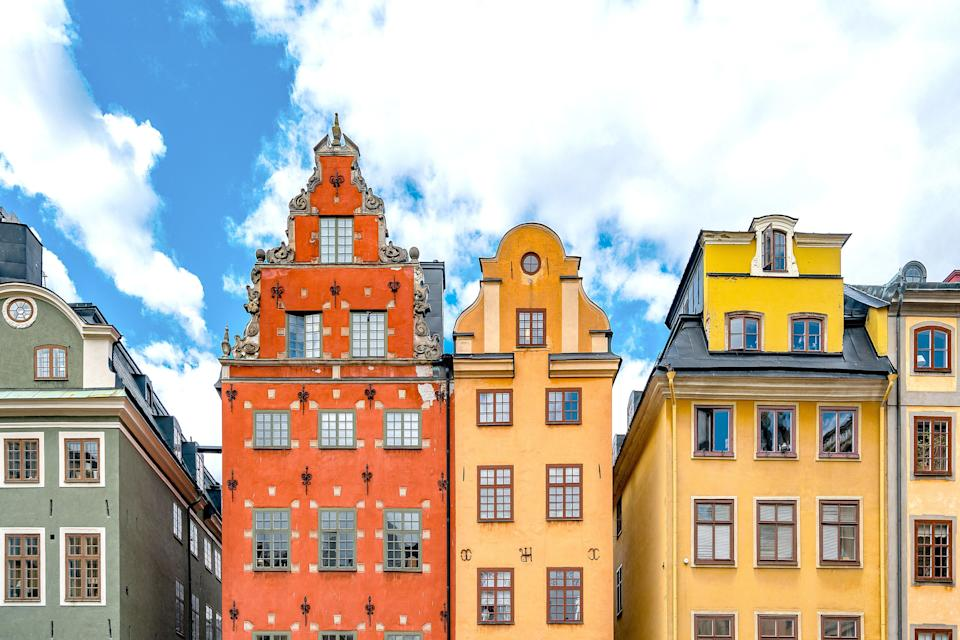"""This year, <a href=""""https://www.cntraveler.com/gallery/places-to-visit-in-sweden-that-arent-stockholm?mbid=synd_yahoo_rss"""" rel=""""nofollow noopener"""" target=""""_blank"""" data-ylk=""""slk:Sweden"""" class=""""link rapid-noclick-resp"""">Sweden</a> remained in the seventh spot. A high GDP per capita, which it shares with many of its Nordic neighbors, is not the sole reason, either: An emphasis on social equality that is built into the education system starting in kindergarten, 16 months of paid family leave that can be split between a couple after a new child is welcomed into a family, and free day care also make Sweden the best country for women, <a href=""""http://www.cntraveler.com/story/worlds-best-country-for-women?mbid=synd_yahoo_rss"""" rel=""""nofollow noopener"""" target=""""_blank"""" data-ylk=""""slk:according to a separate study"""" class=""""link rapid-noclick-resp"""">according to a separate study</a>. Basically, an emphasis on work-life balance leads to a happier populace."""